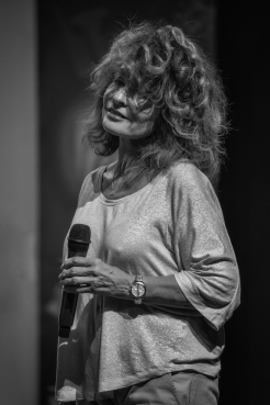 Patricia BONNER à l'occasion du concert Blue Note Story avec Jean Michel PROUST à l'espace Folard de Morières les Avignon le 12 septembre 2015